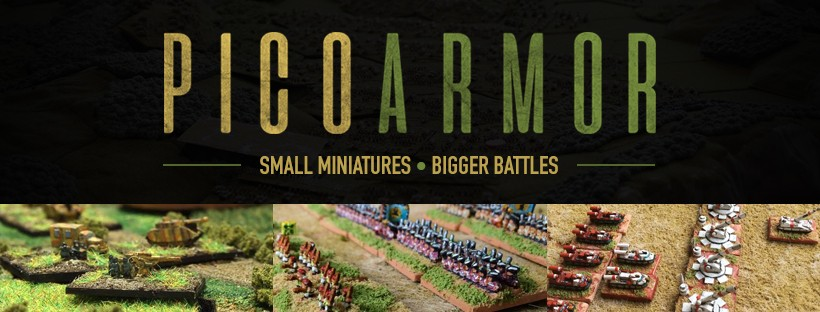 PicoArmor - 1/600 and 3mm Scale Miniature Wargaming